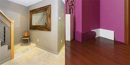планка под цвет стены